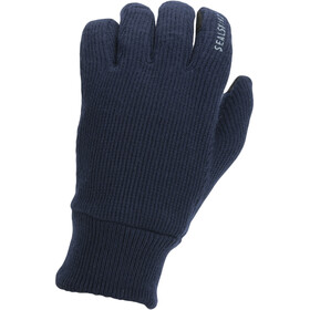 Sealskinz Windproof All Weather Knitted Gloves dark navy